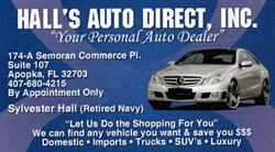 Halls Auto Direct
