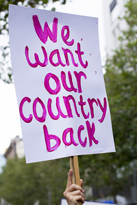 We Want Our Country Back