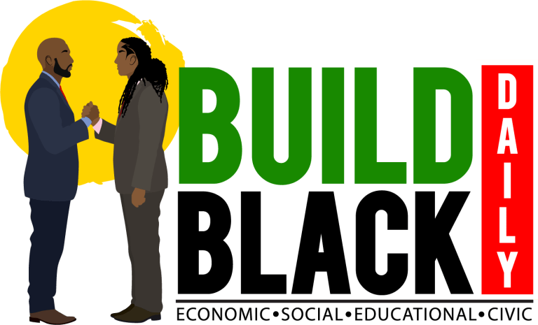 BUILD BLACK DAILY LOGO PNG