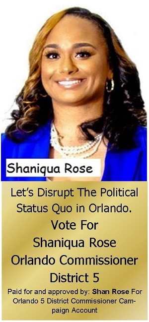 Shaniqua Rose Campaign Banner